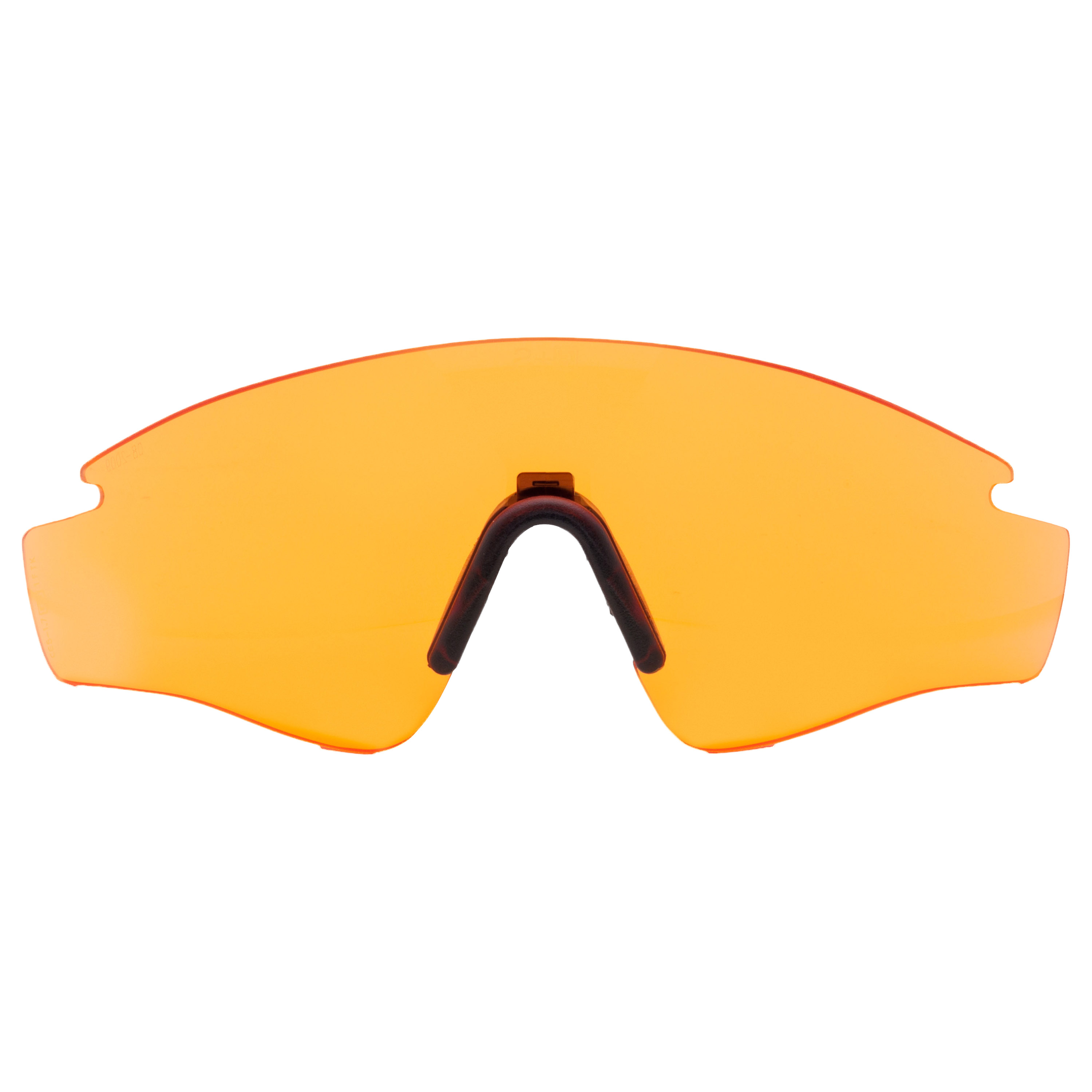 Replacement Lens Revision Sawfly Max-Wrap Small orange