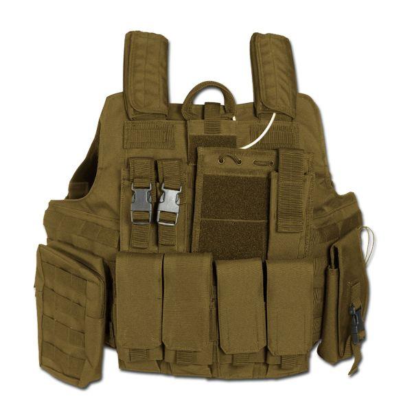 Combat Vest Quick Release, coyote