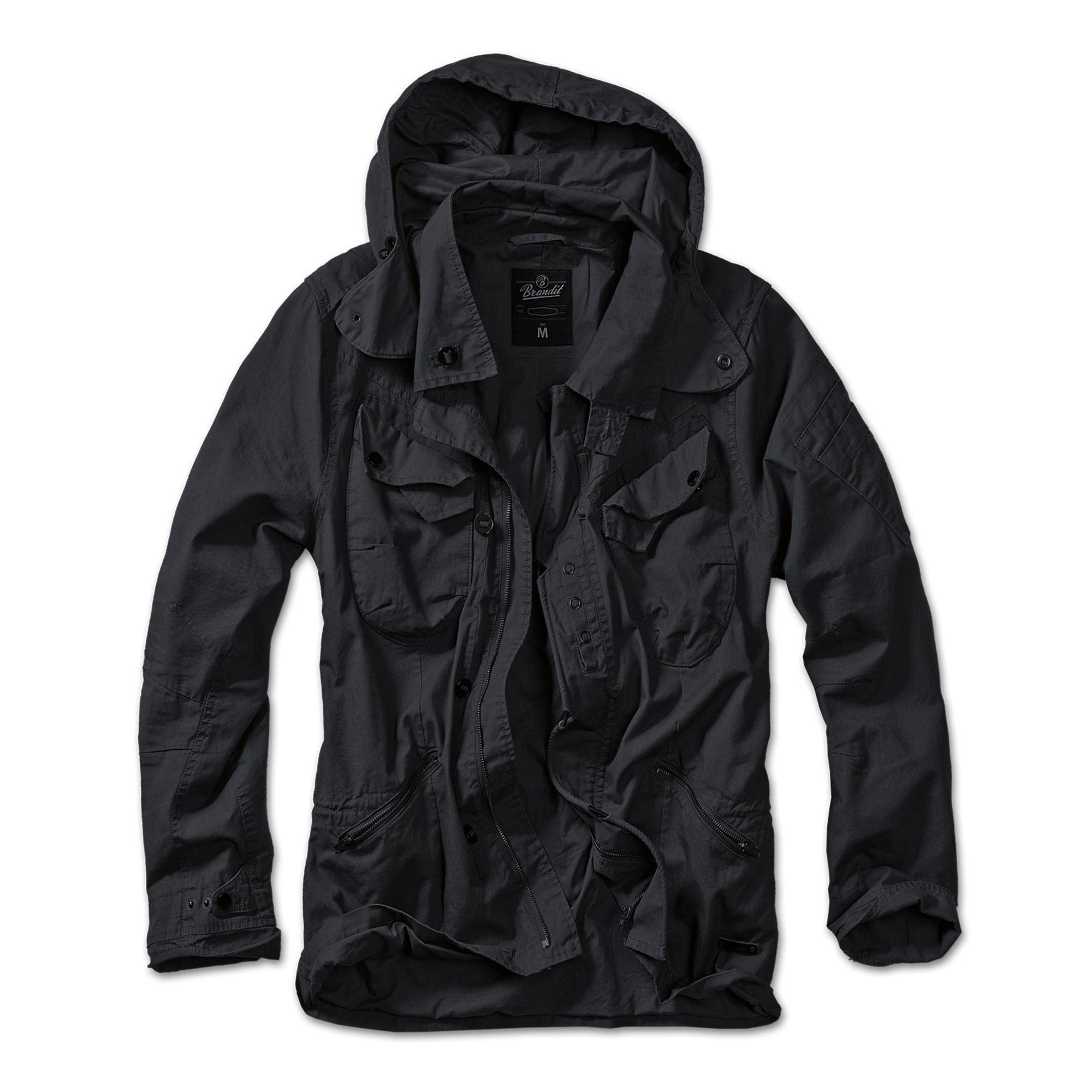 Jacket Brandit Byron, black