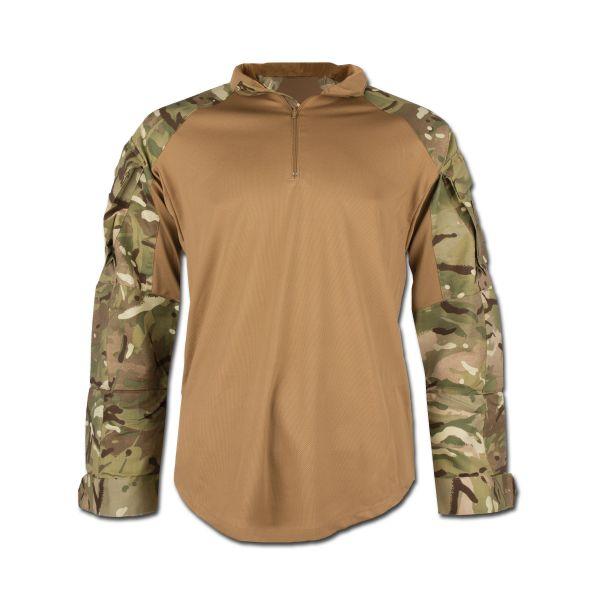 British Combat Shirt Hot Weather MTP camo used