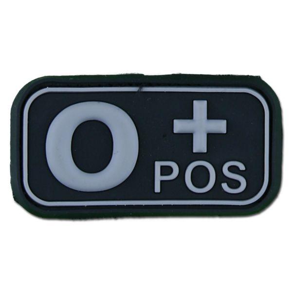 3D Blood Patch 0 Pos swat