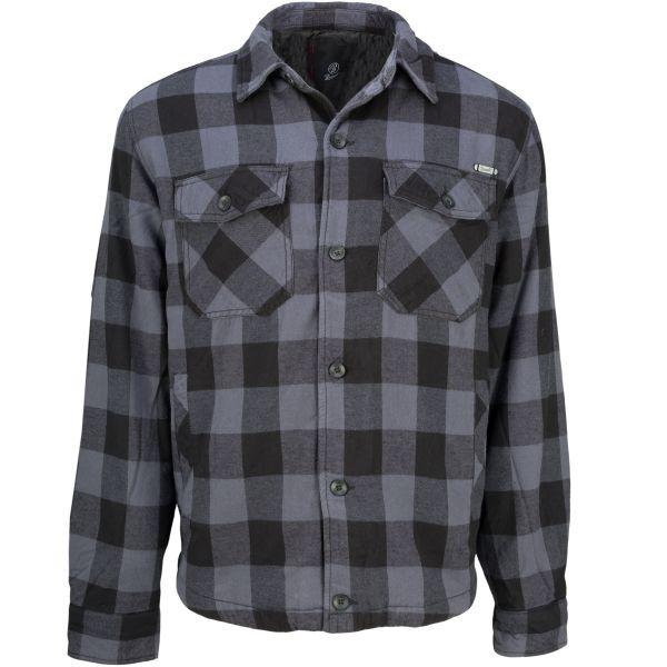 Brandit Lumberjacket Checked black/gray
