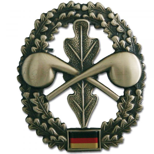 German Armed Forces beret insignia ABC defense