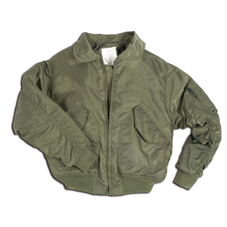Flight Jacket CWU style olive