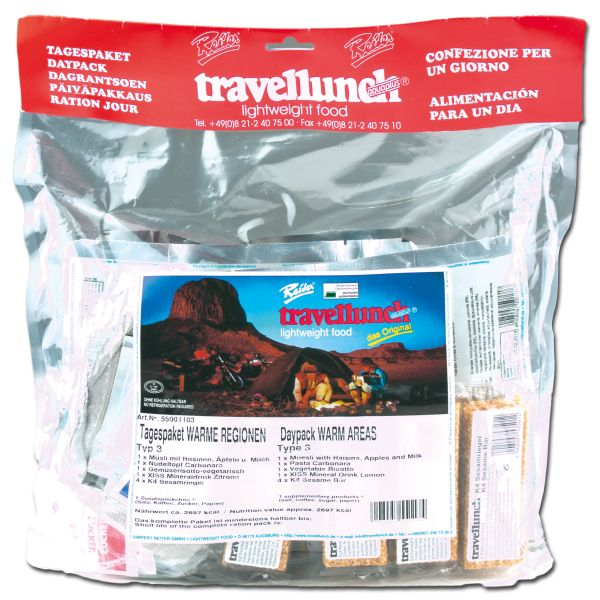 Travellunch Ratio Package