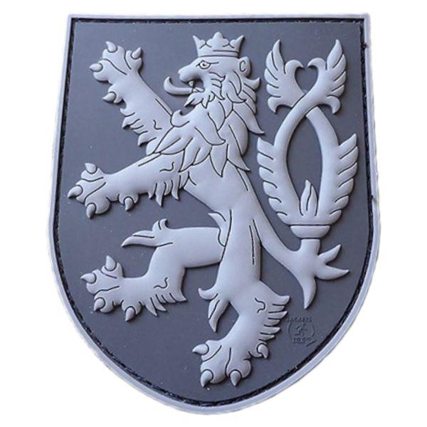JTG 3D Patch Czech Republic Shield with Lion blackops