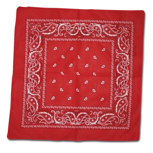 Bandana Western red