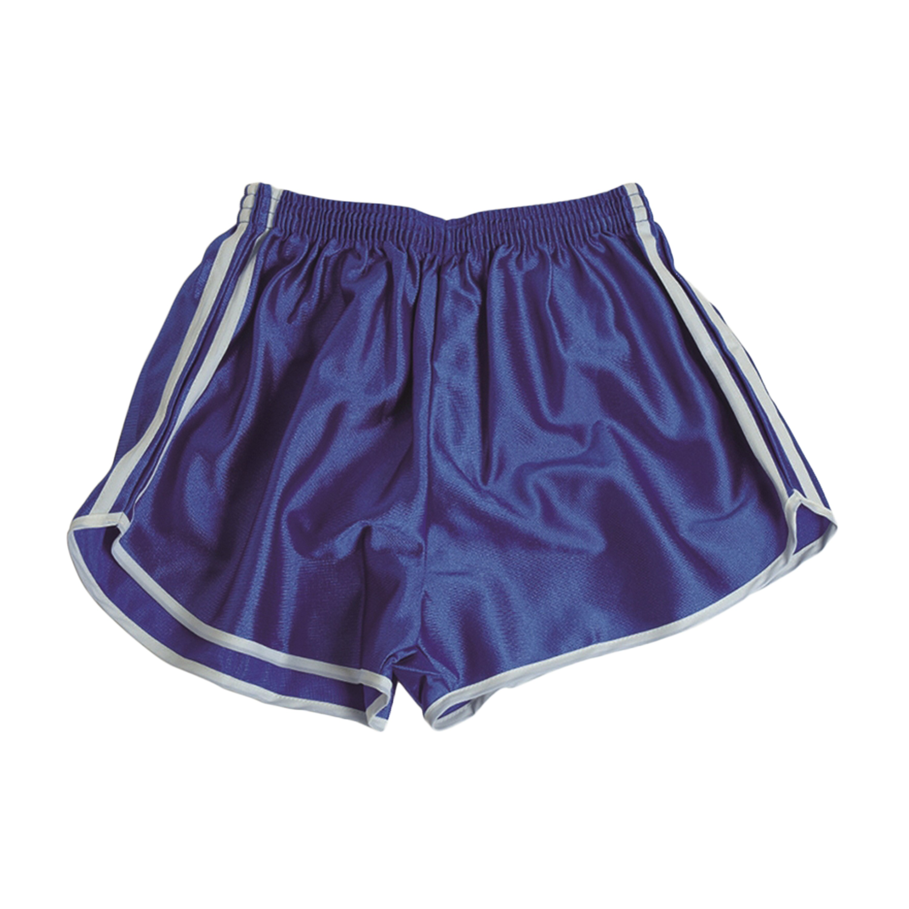 French Sport Shorts with Stripes Like New blue