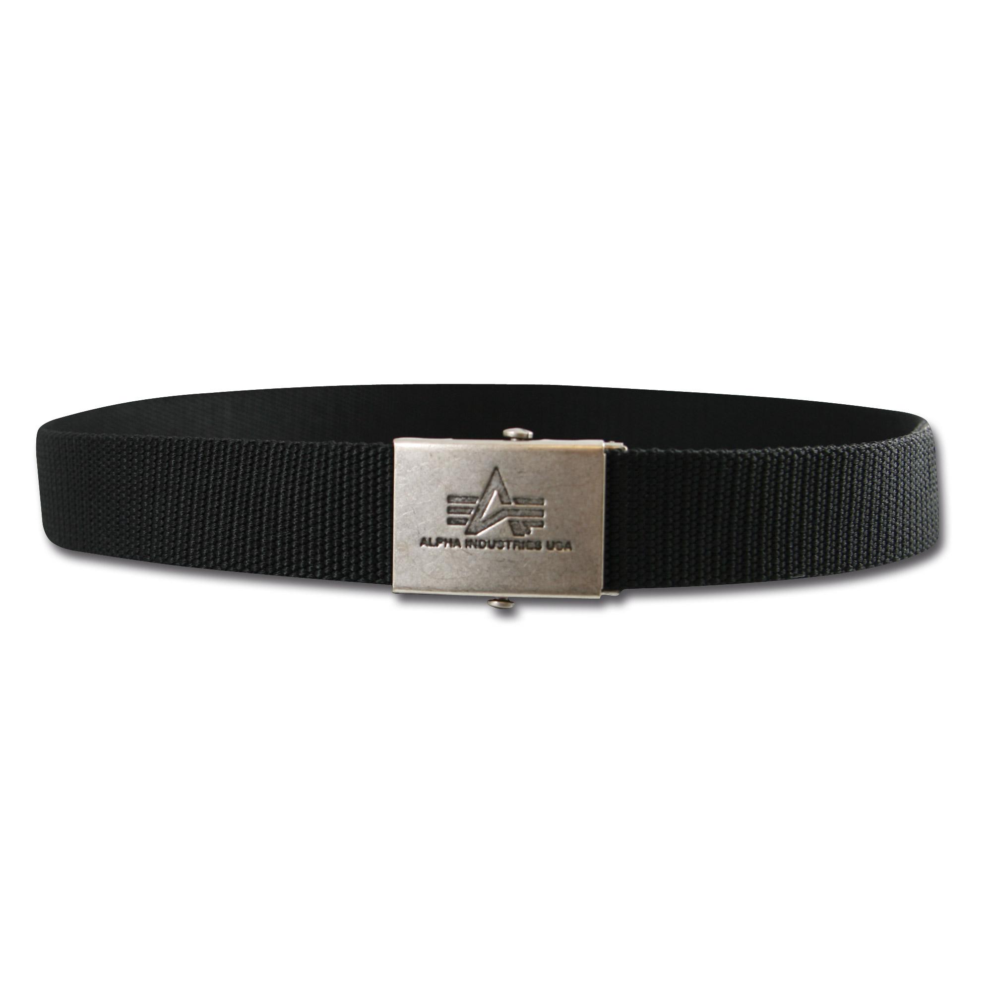 Heavy Duty Belt Alpha black