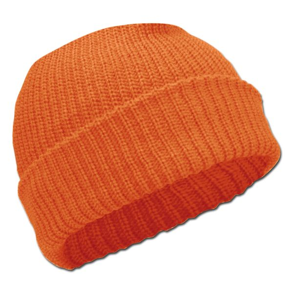 Watch Cap Acrylic orange