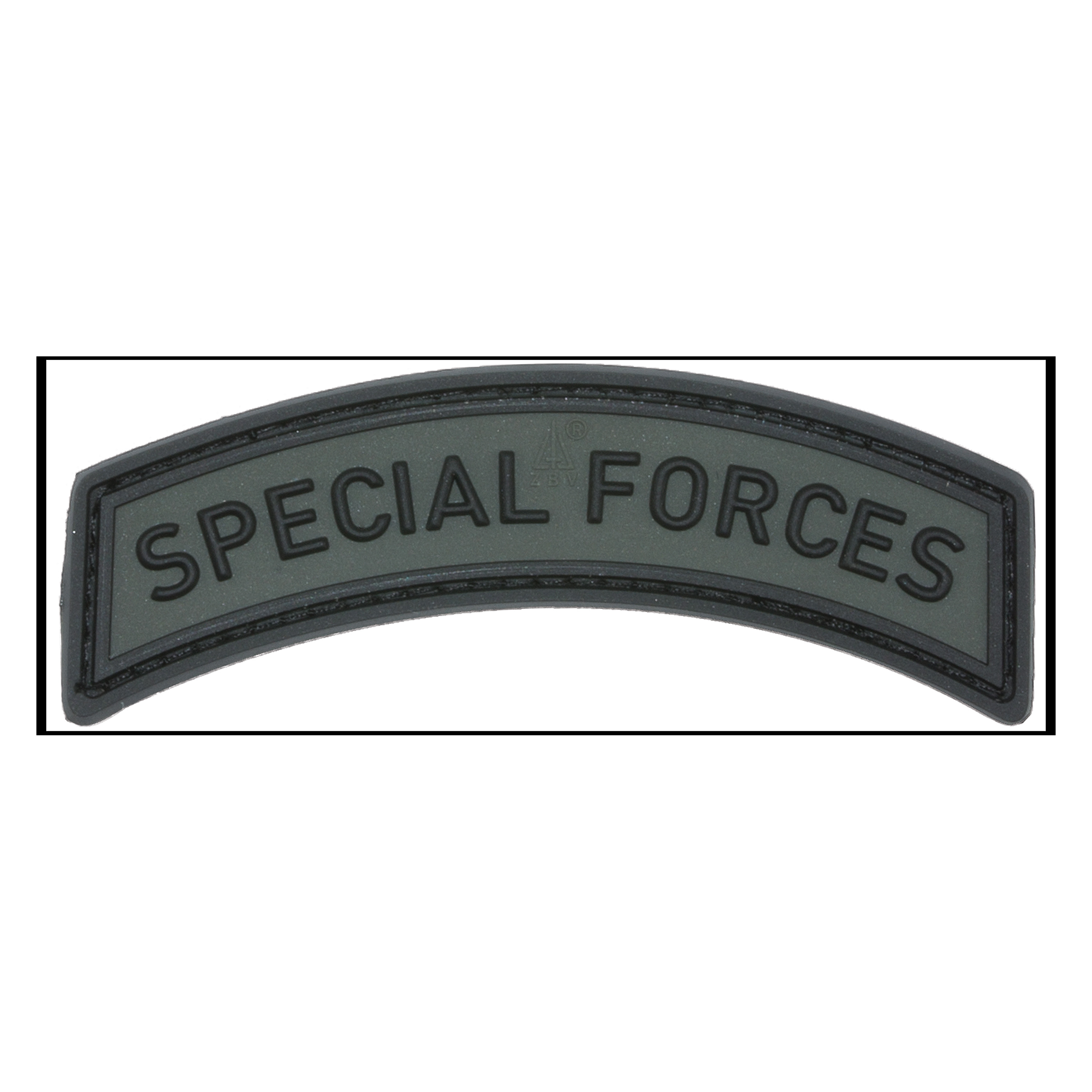 Jackets To Go 3D Patch Special Forces Tab battlegrey