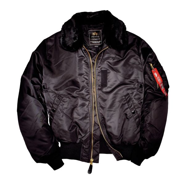 Alpha Industries Flight Jacket B15 black