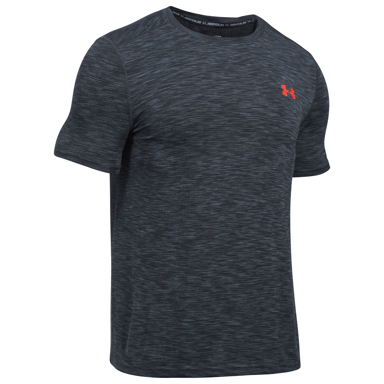 Under Armour Fitness Shirt Threadborne gray/red
