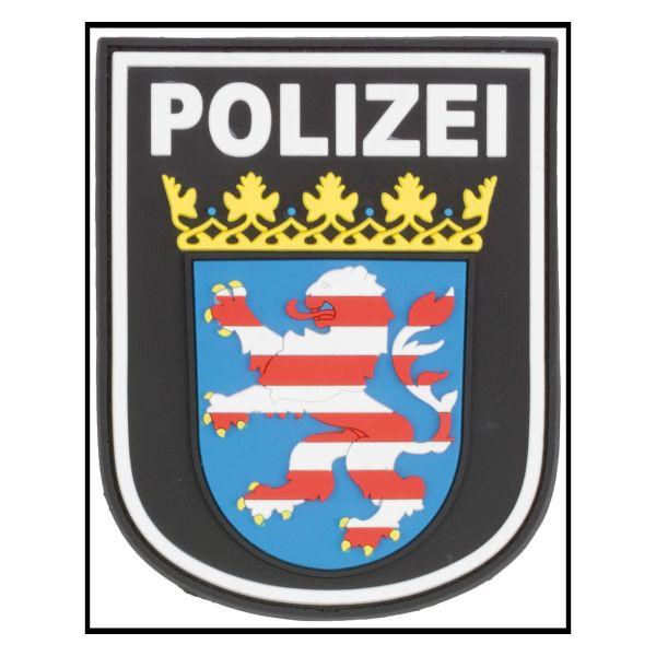 3D-Patch Arm Insignia Polizei Hessen black