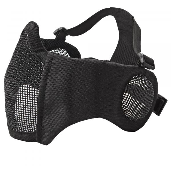 ASG Metal Mesh Mask with Pads and Ear Protectors black