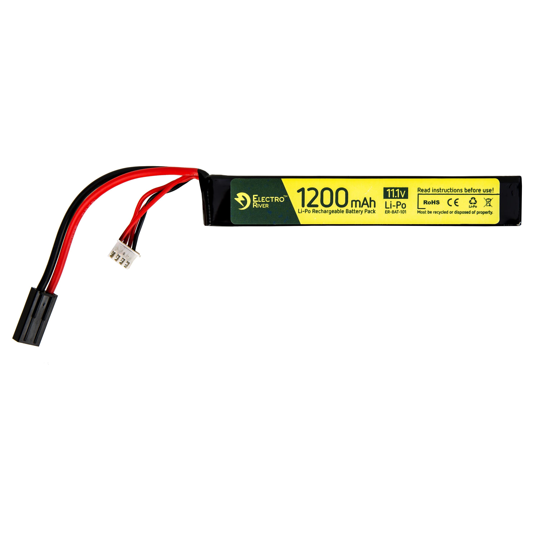 Electro River Li-Po Akku 11.1 V 1200 mAh Stick Type 15/30C