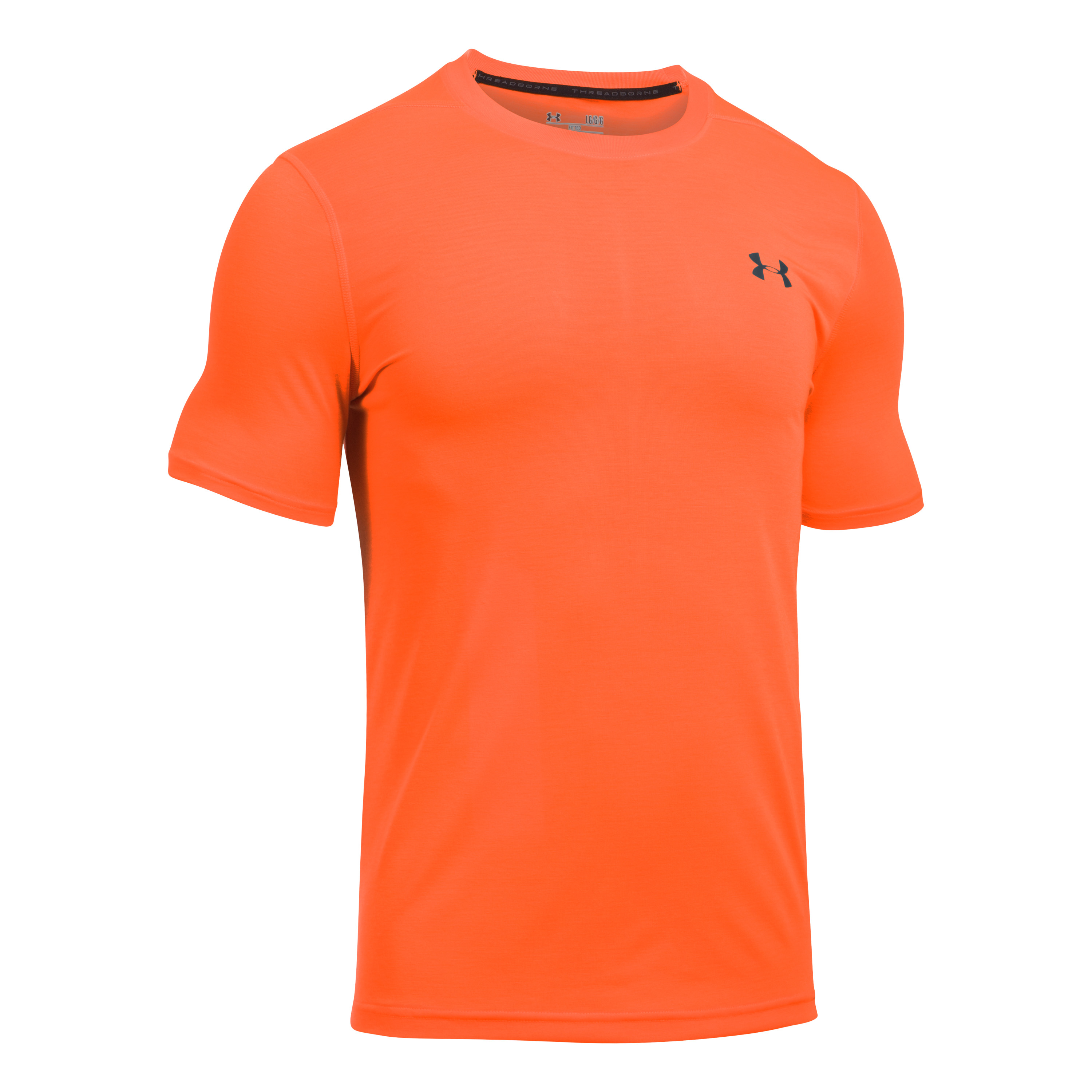 Under Armour Fitness Threadborne Fitted red