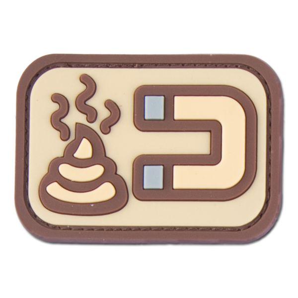 3D-Patch Shit Magnet desert