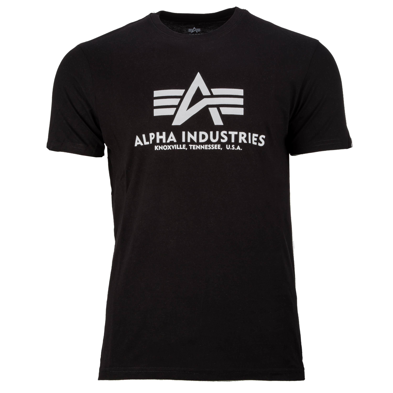 T-Shirt Alpha Basic black