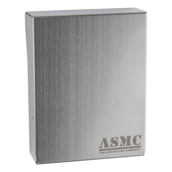 Cigarettes Box Metal with ASMC Logo