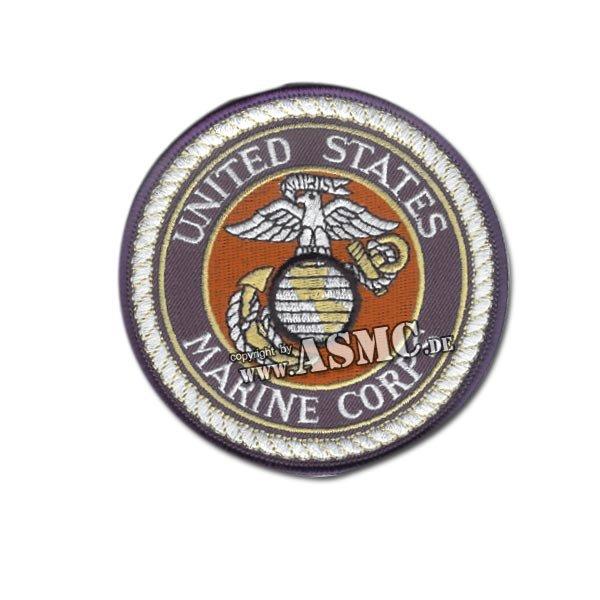 Insignia U.S.M.C. Round blue-white-red