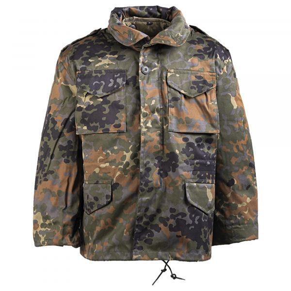 Kids Field Jacket M-65 Style flecktarn