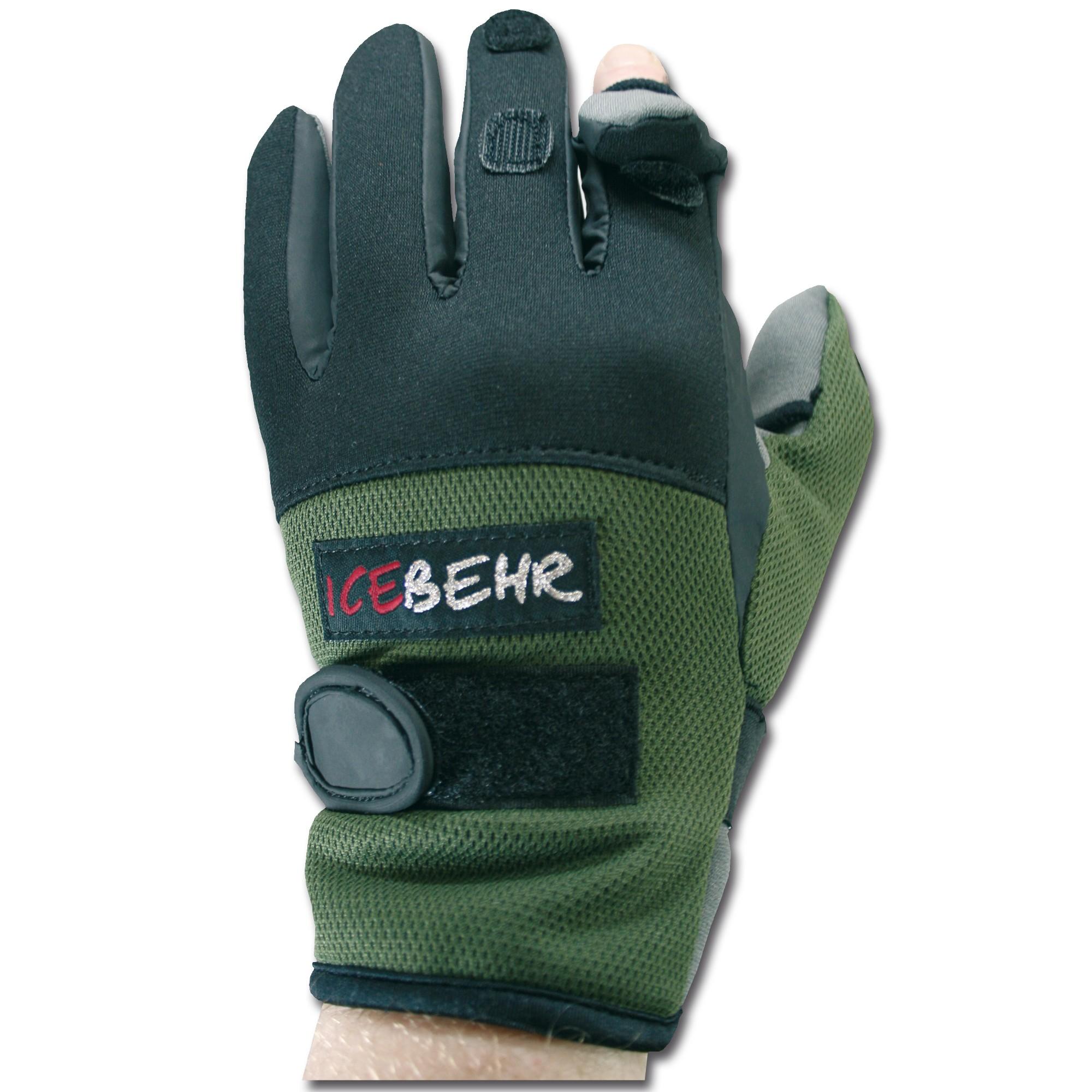 Neoprene Shooting Gloves Light green