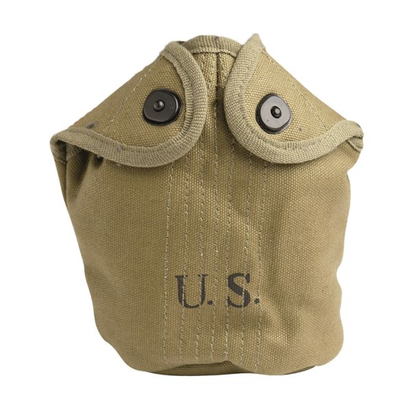 U.S. Canteen Cover M10 Reproduction khaki