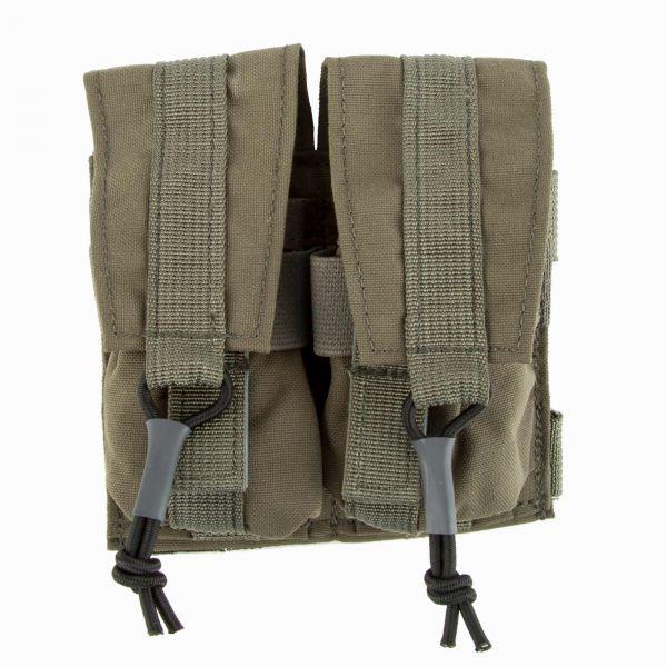 LBX Grenade Pouch Dual Banger Horizontal ranger green