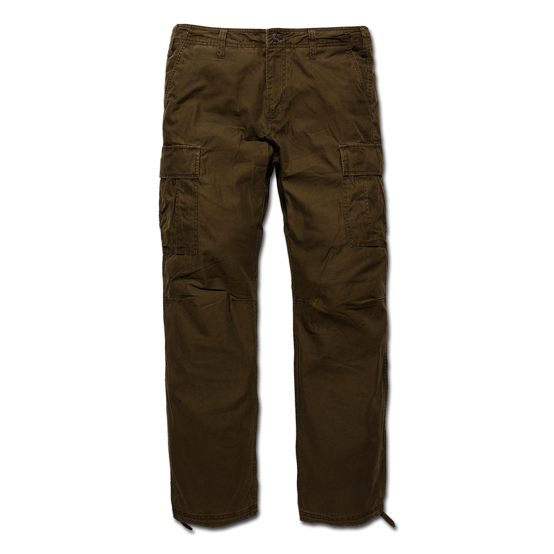Pants Vintage Industries BDU Reydon dark olive