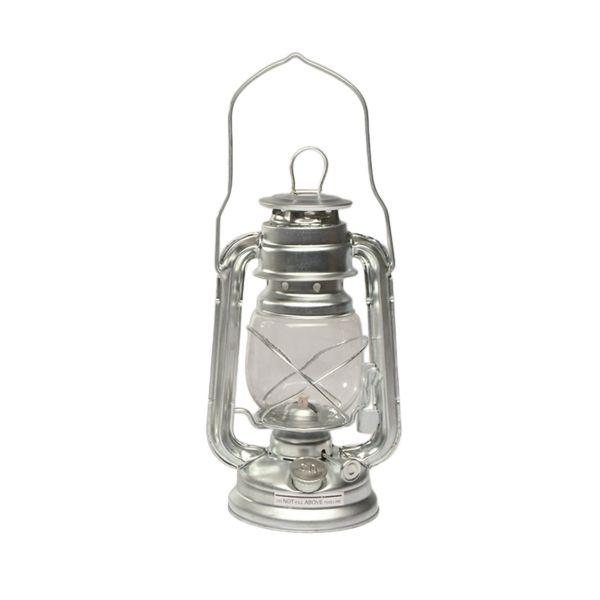 Storm Lantern Zinc 23 cm