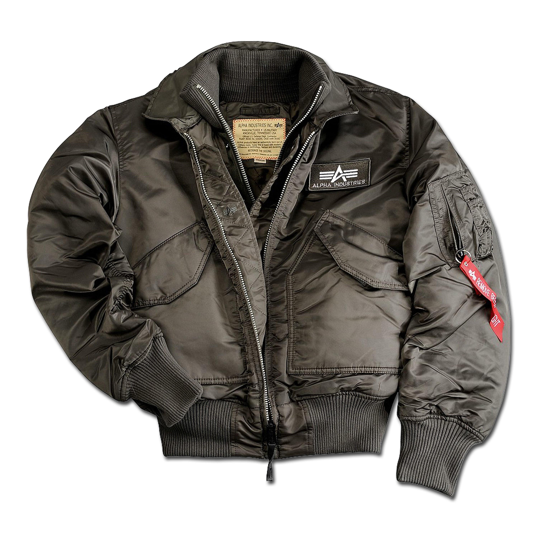 Alpha Flight Jacket X-Force repl. gray