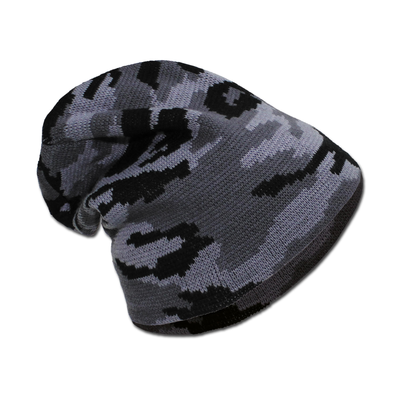 Beanie hat by MFH. dark camo