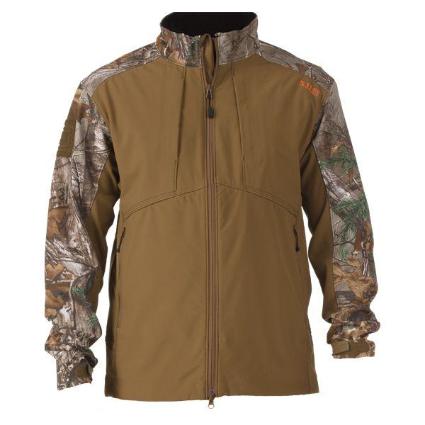 5.11 Jacket Softshell Colorblock Sierra Realtree brown