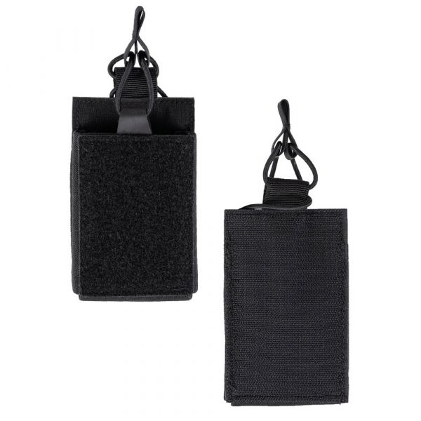 Mil-Tec Single Magazine Pouch with Velcro Backing black