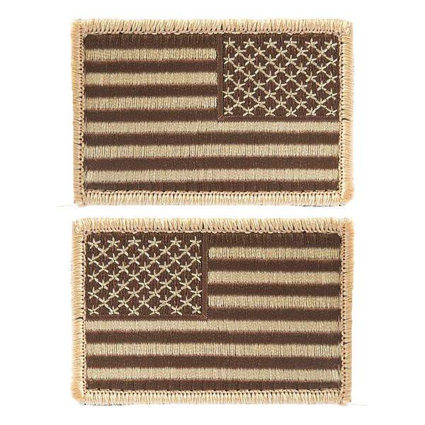 Insignia U.S. Flag Velcro desert