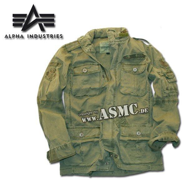 Alpha Arlington jacket olive green