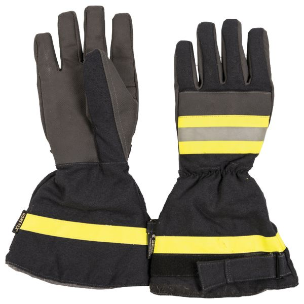 BW Fire Department Protection Gloves Used dark blue