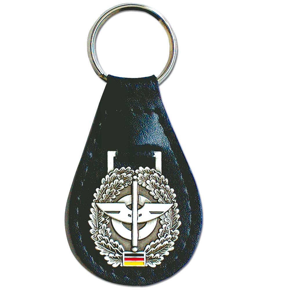 Keyring with BW Beret Insignia Nachschub