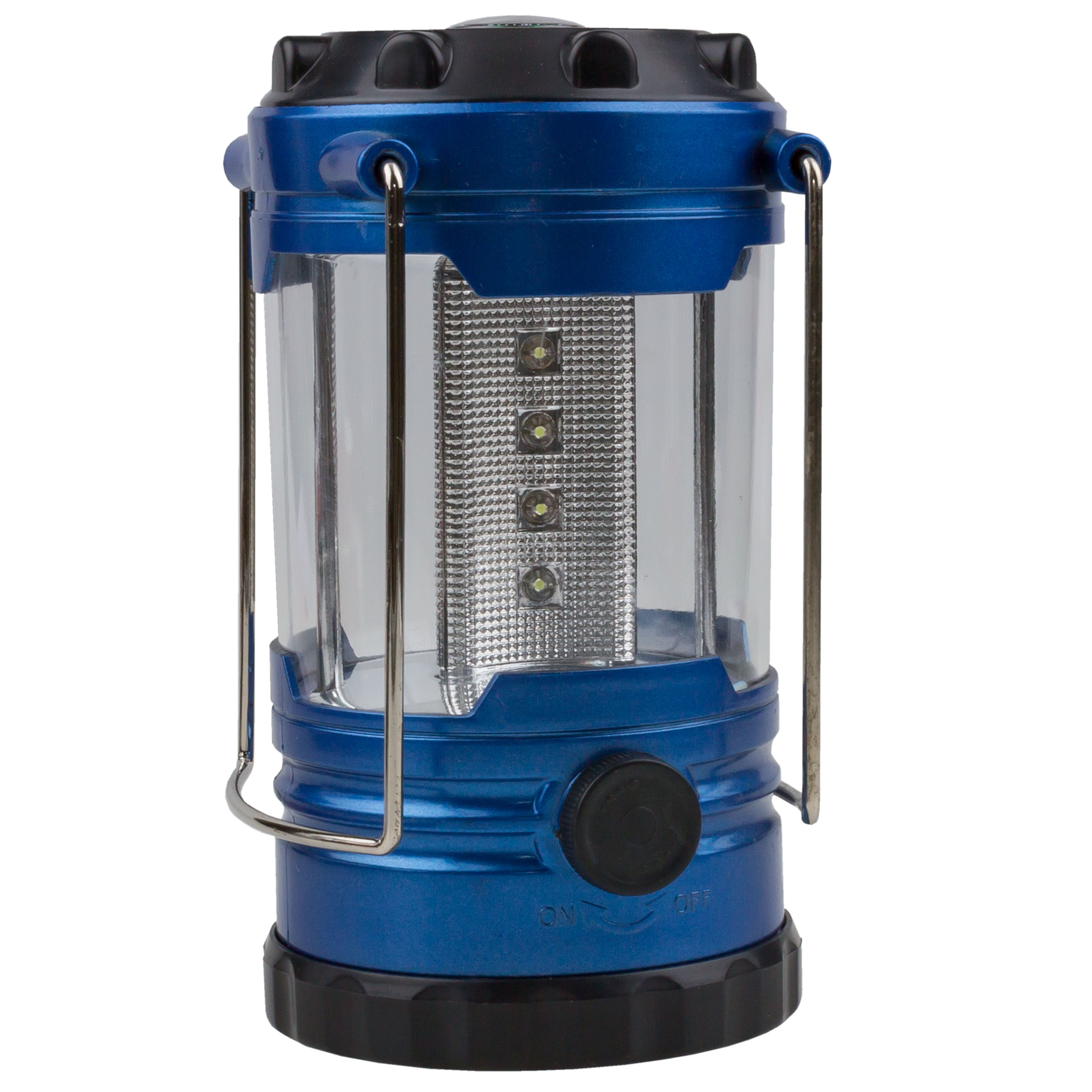 Camping Lantern with Compass blue