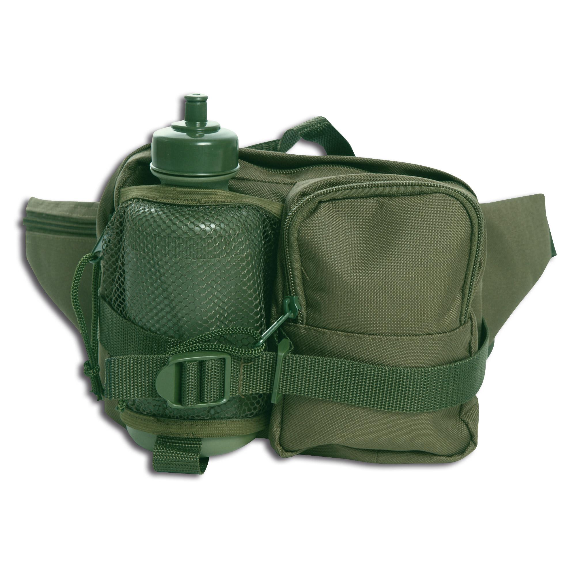 Hip Bag Mil-Tec Single Pack olive