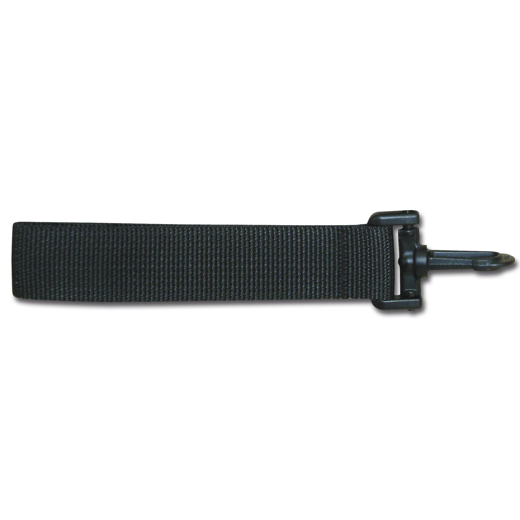 Belt loop black 10 cm
