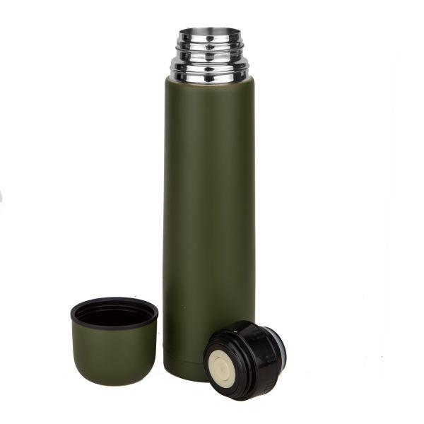 MFH 1 Liter Vacuum Thermos Bottle olive
