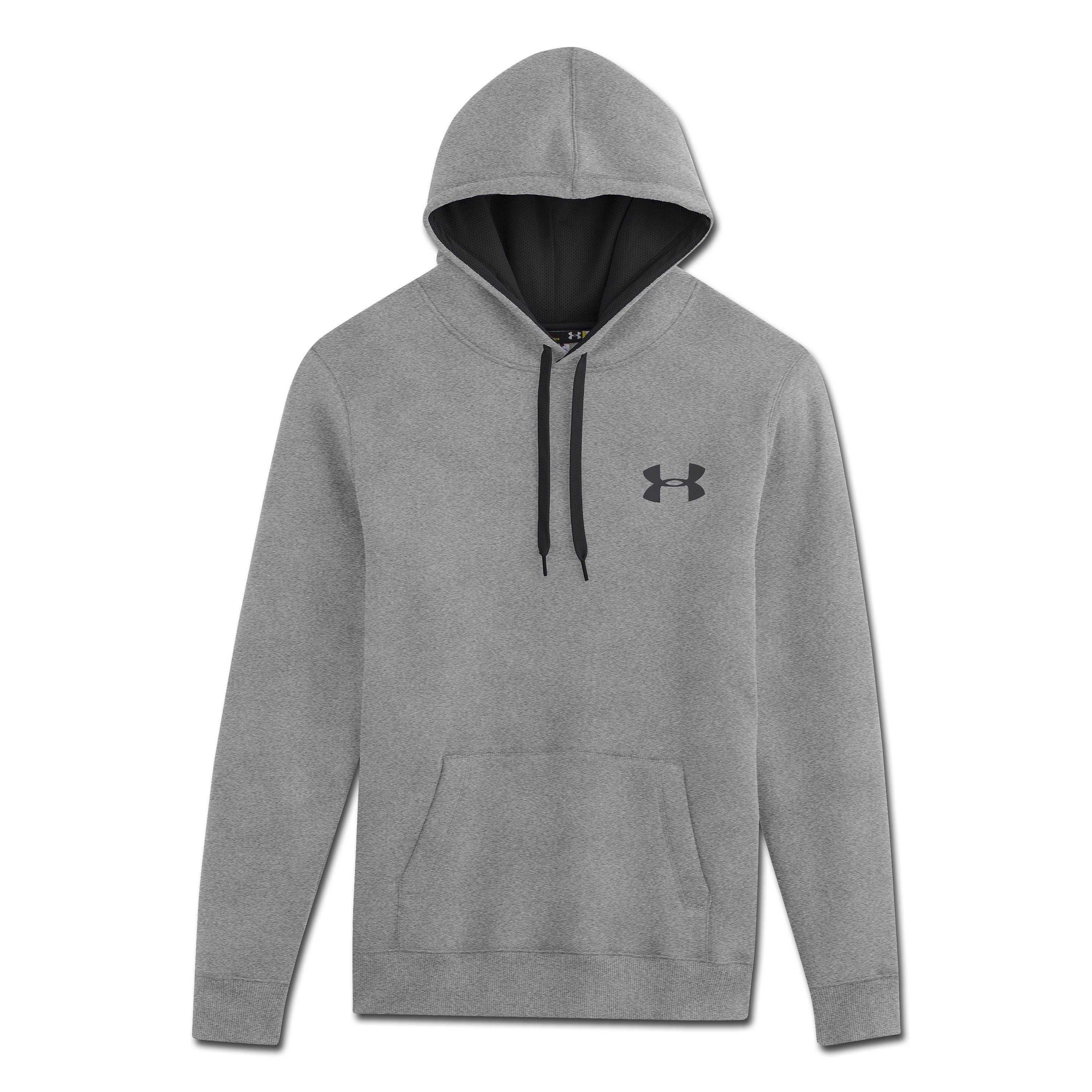 Under Armour Storm Cotton Pullover gray