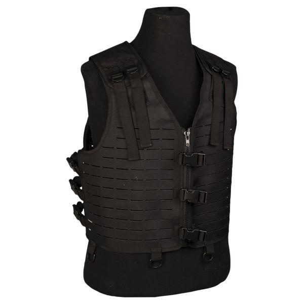 Laser Cut Lightweight Carrier Vest black