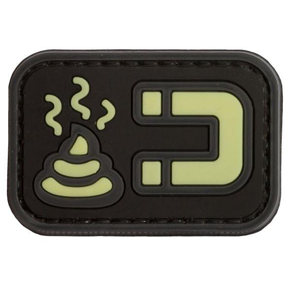 TAP 3D Patch Shit Magnet GID