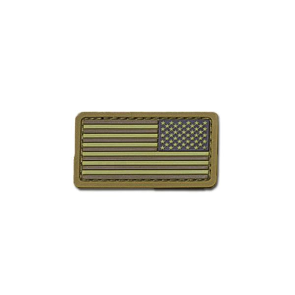 MilSpecMonkey Patch U.S. Flag Mini REV PVC desert