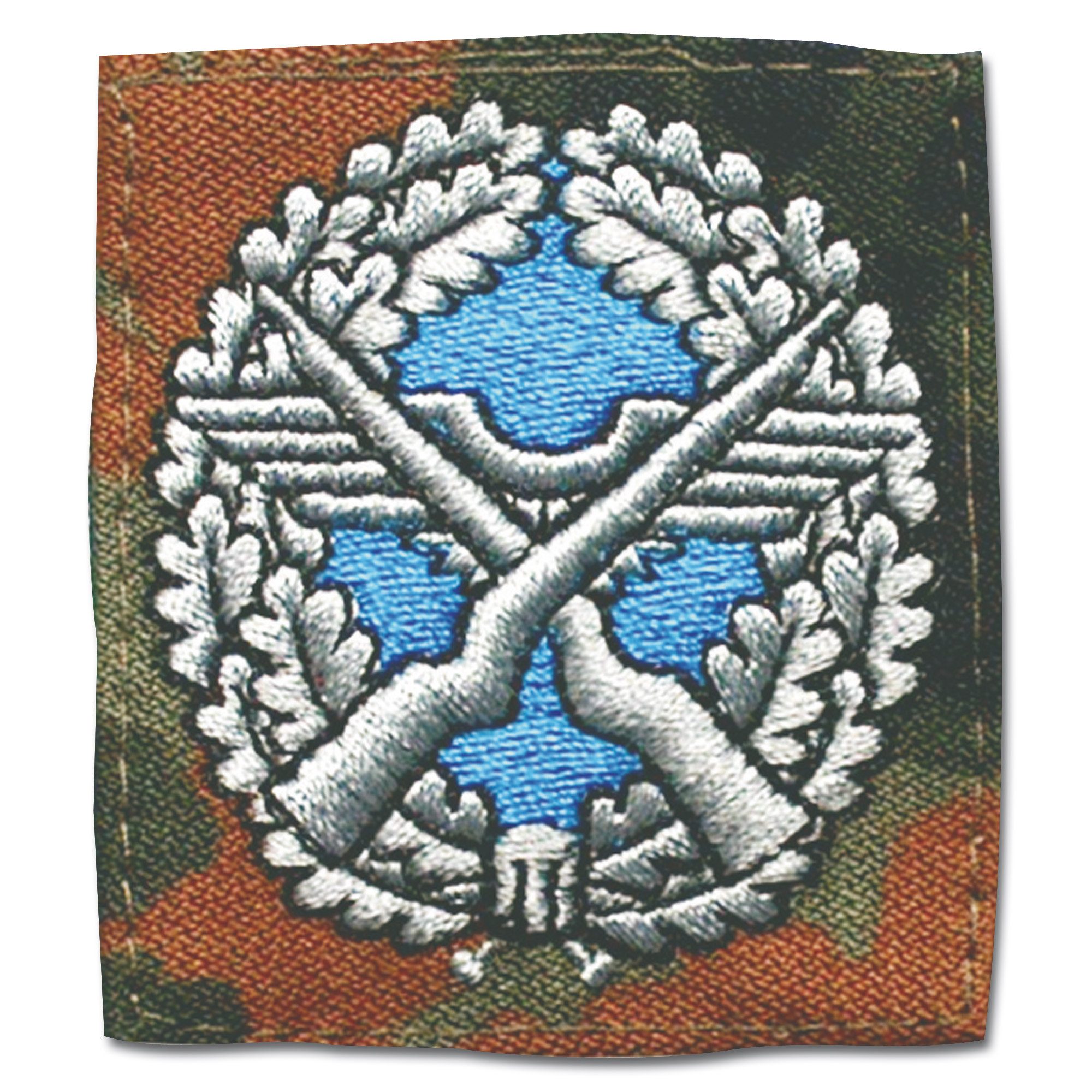 Insignia Military security troops team leader flecktarn/colored