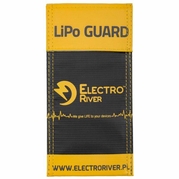 Electro River Li-Po Safety Bag-S black/yellow