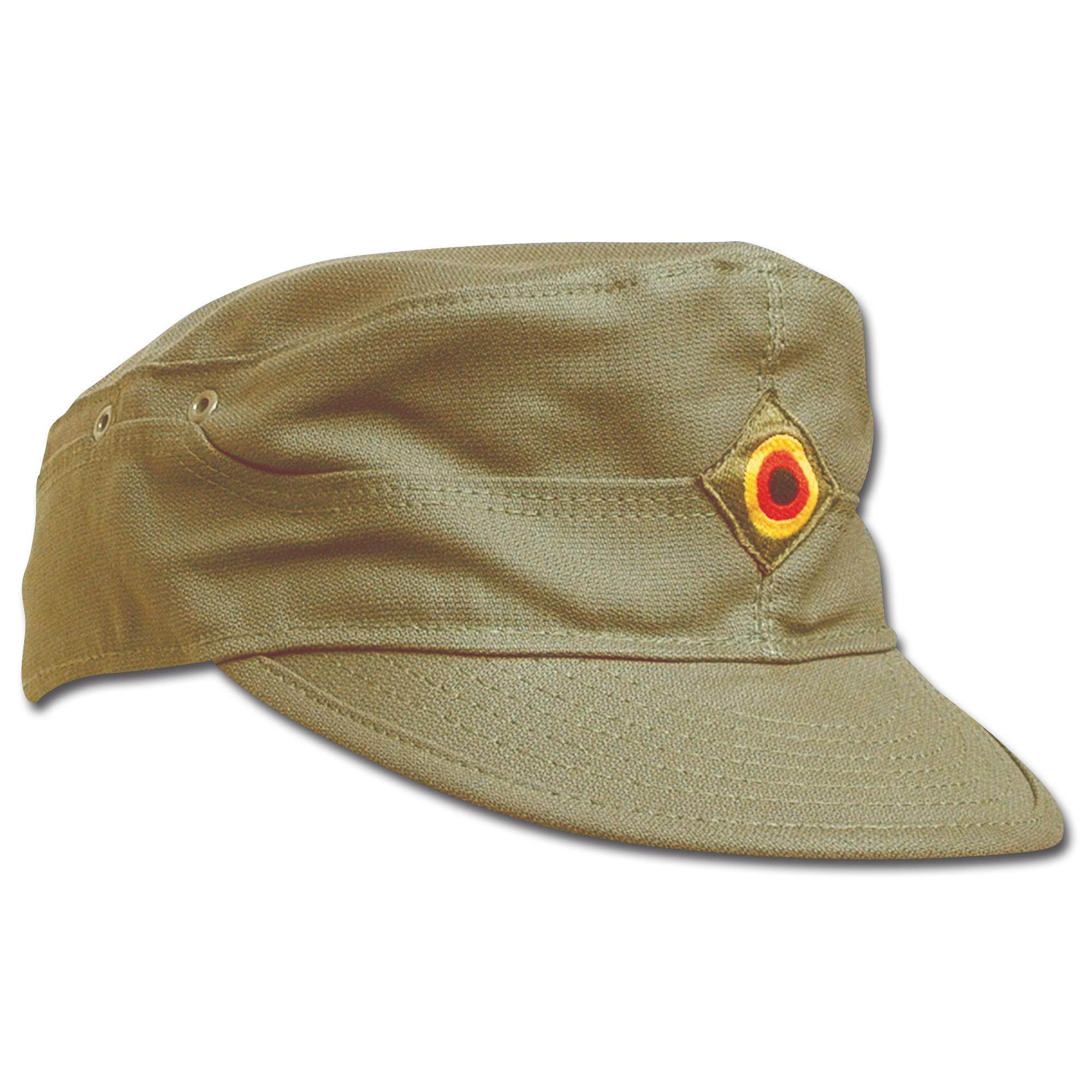 German Army Field Cap olive green